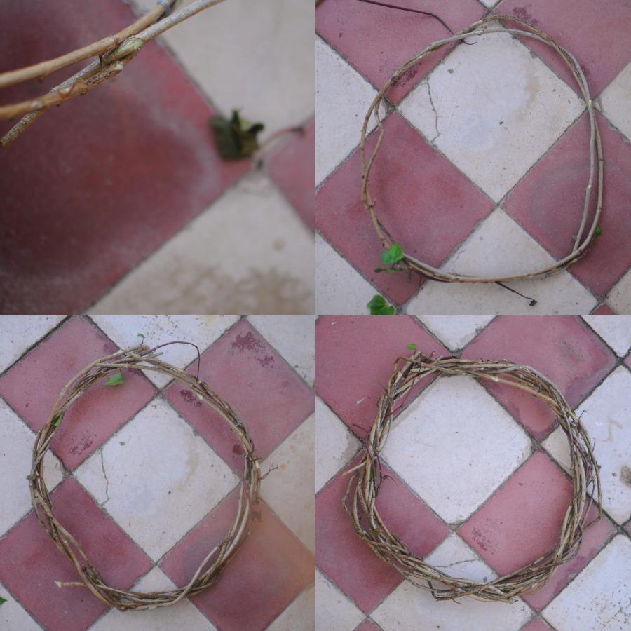 wreath base step 2
