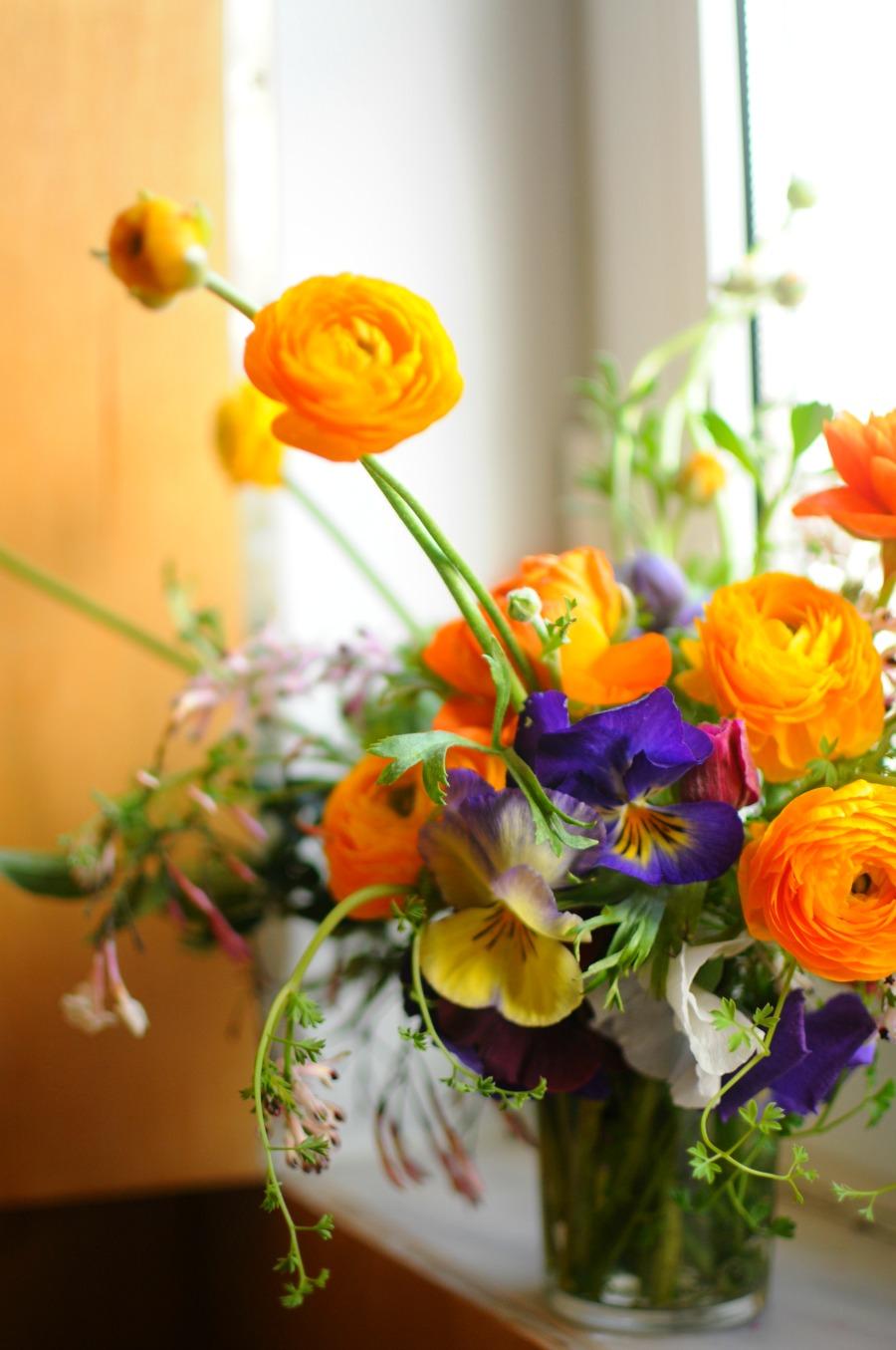 flowers spring bouquet