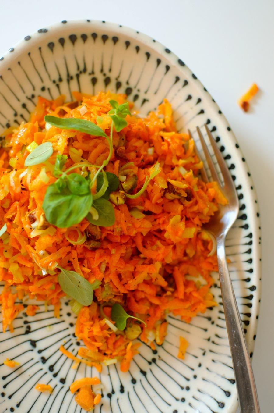 summer carrot salad
