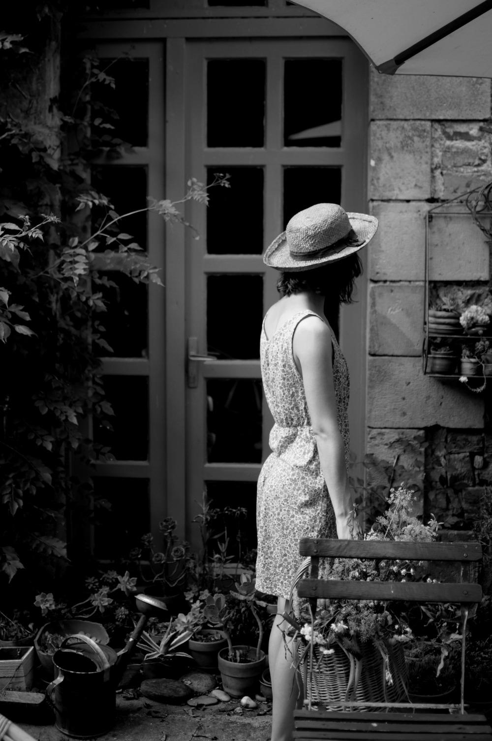 girl garden