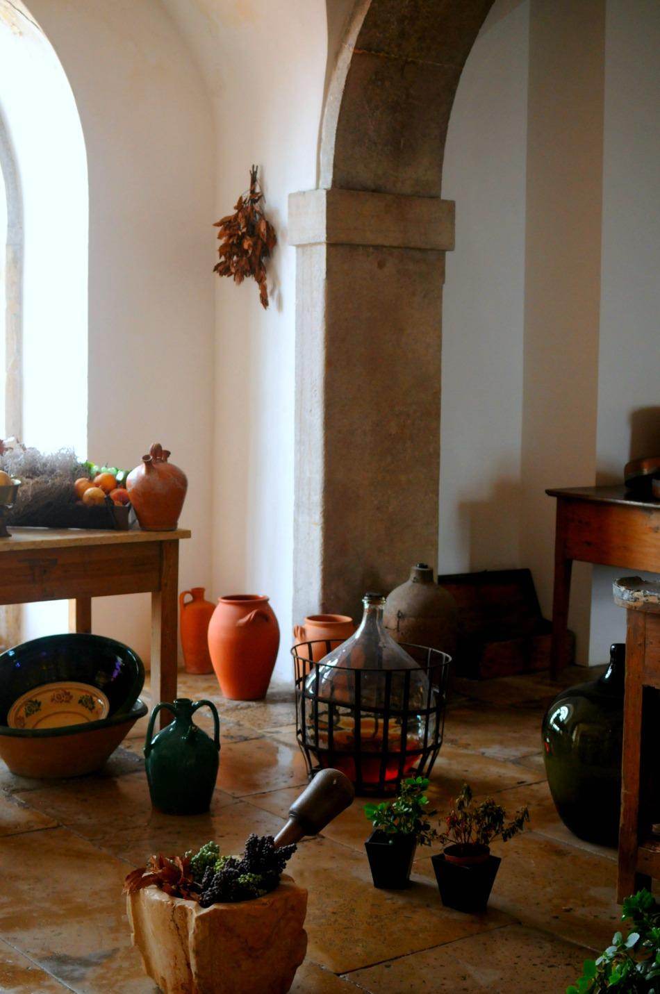 sintra pena palace kitchen