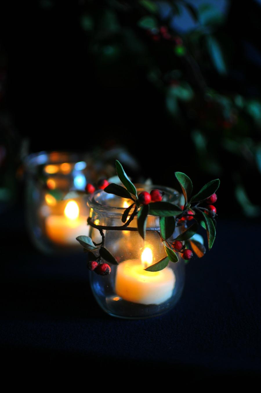 christmas candles