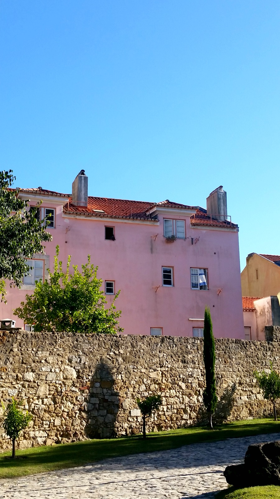 garden lisbon castle