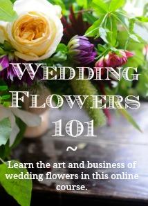 wedding flowers class