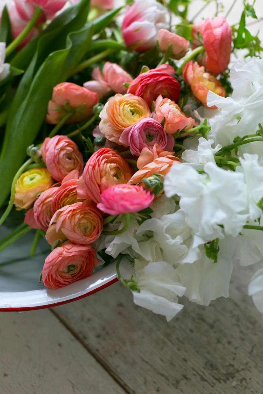 spring flower recipe